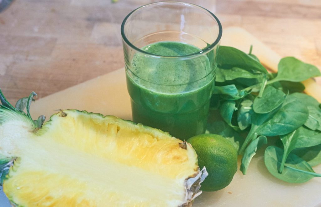 Ananas Limette Saft