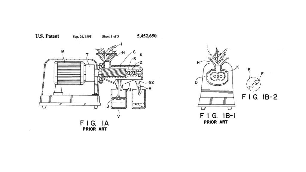 Entsafter Patent